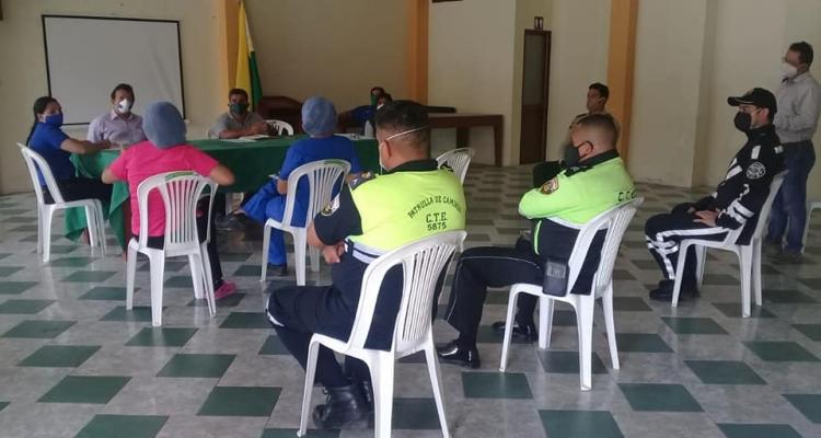 REUNION DE LA COMISIÓN PARROQUIAL PARA EMERGENCIAS DE SARACAY.